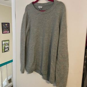 Old Navy XL Grey and Sparkles Sweater